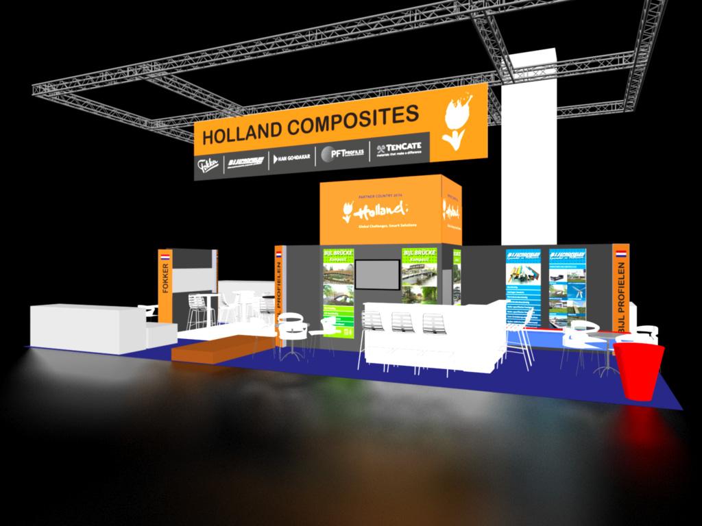 2014 Partnerland - Holland Composies Pavilion